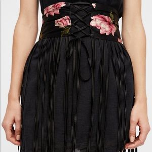 NFC x Free People Endless Rose Maxi Corset Belt